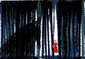 Dans la forêt du petit chaperon rouge, le nouveau spectacle de la compagnie Otompotom